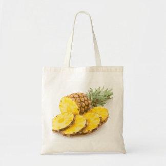 Juicy Pineapple Slices Canvas Bag