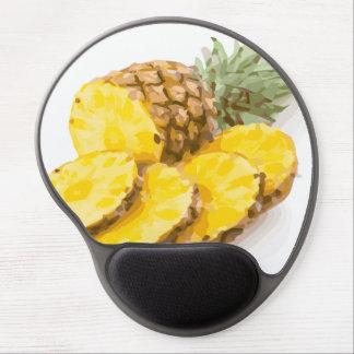 Juicy Pineapple Slices Gel Mouse Pad