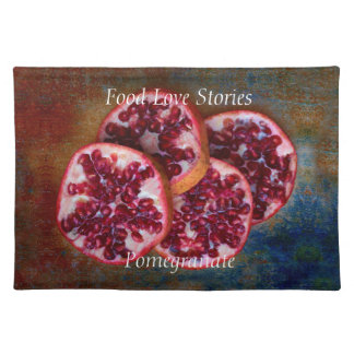 Juicy Pomegranate Food Love Stories Placemat