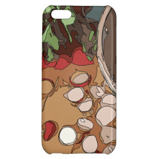 Juicy Radishes and Grilled Potato iPhone 5C Case