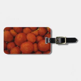 Juicy Strawberries Custom Luggage Tag