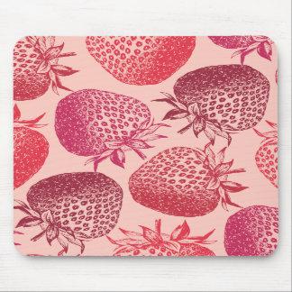 Juicy Strawberries Mousepad