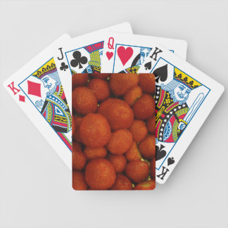 Juicy Strawberries Playing Cards