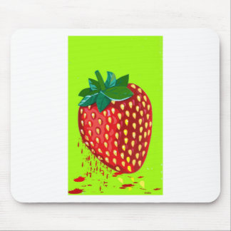 juicy strwaberry mousepads
