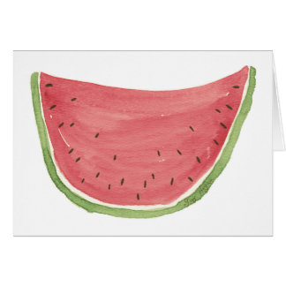 Juicy Watermelon Cards