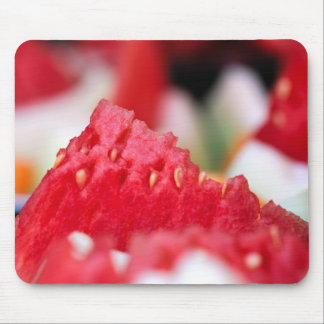 Juicy Watermelon close-up Mousepads