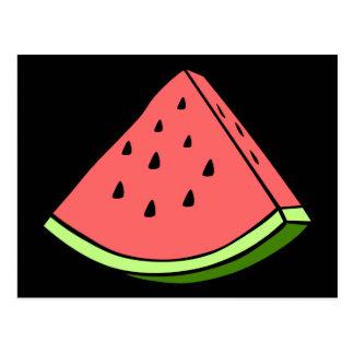 Juicy Watermelon Postcard