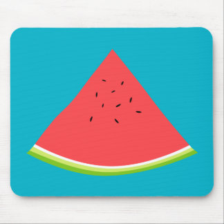 Juicy Watermelon Slice Mouse Pad