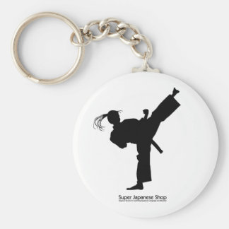 Jujutsu Girl and Chart Key Ring