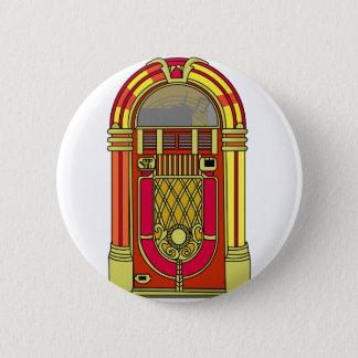 Jukebox 6 Cm Round Badge