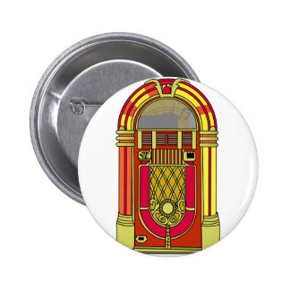 Jukebox 6 Cm Round Badge