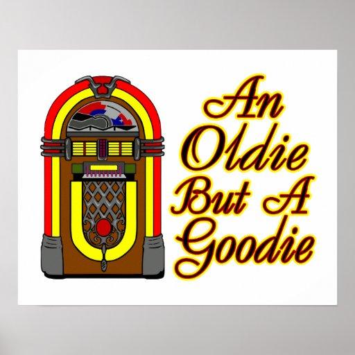 Jukebox An Oldie But A Goodie Print