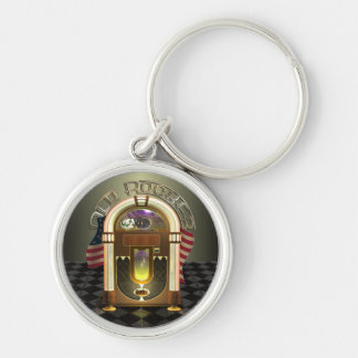 Jukebox Old Rocker Premium Keychains
