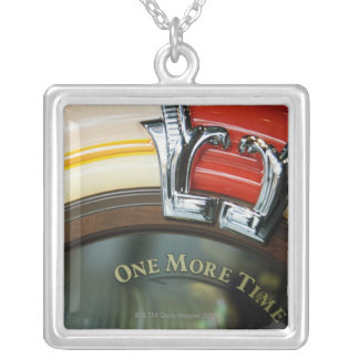 Jukebox Silver Plated Necklace