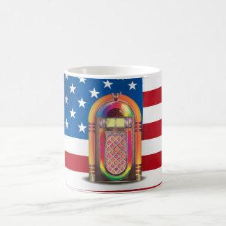 JukeBox USA 11 Oz Magic Heat Color-Changing Coffee Mug