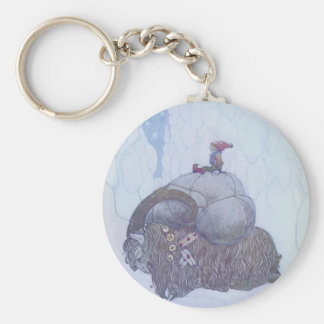 Julebocken Scandinavian Folklore Key Ring