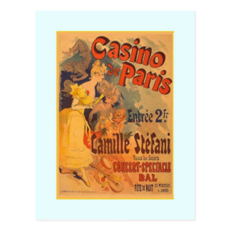 Jules Chéret advertisment 1891 Post Card