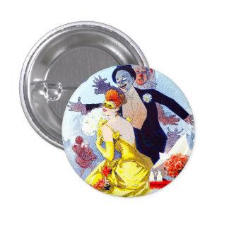 Jules Cheret Carnaval Button