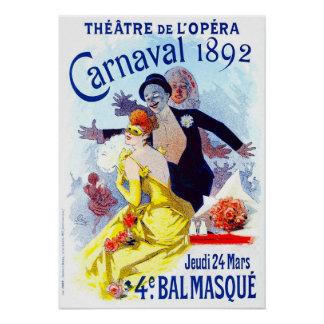 Jules Cheret Carnaval Poster