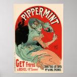 Jules Chéret Pippermint Poster