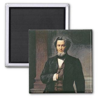 Jules Favre  1865 Square Magnet