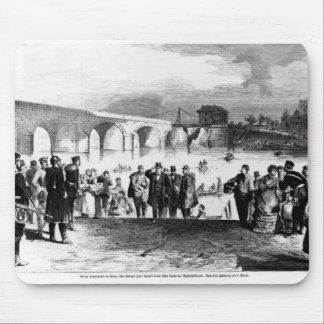 Jules Favre  arriving at Pont de Sevres Mouse Mat