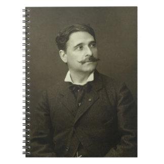 Jules Garnier (1847-89), from 'Galerie Contemporai Spiral Notebook