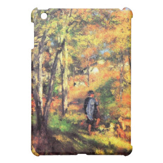 Jules le Coeur and his dogs by Pierre Renoir iPad Mini Covers