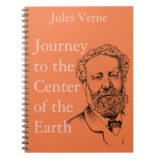 Jules Verne the steampunk writer Spiral Note Books