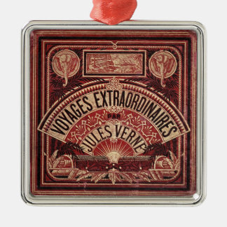 "JULES VERNE ""VOYAGES EXTRAORDINAIRES"" (1878) CHRISTMAS ORNAMENT"