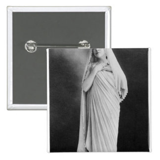 Julia Bartet  in 'Antigone' by Sophocles 15 Cm Square Badge