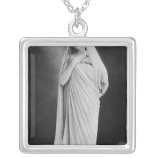 Julia Bartet  in 'Antigone' by Sophocles Silver Plated Necklace