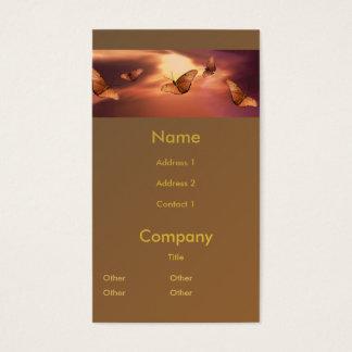 Julia Butterfly Business Card