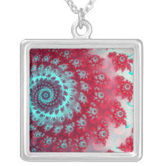 Julia Fractel Silver Plated Necklace