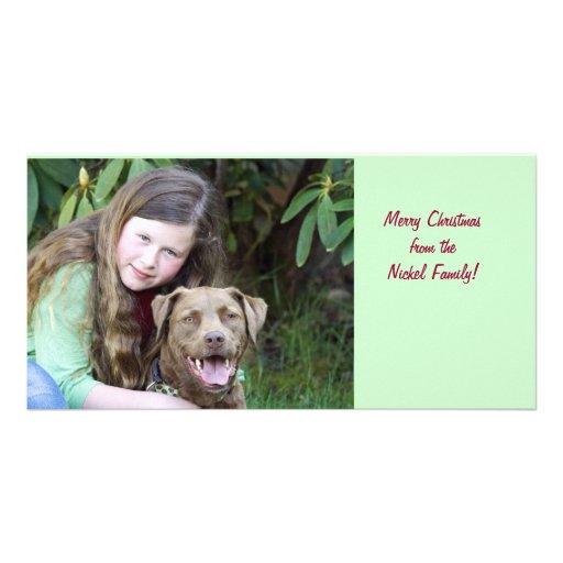Julia & Hollie Customized Photo Card