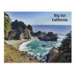 Julia Pfeiffer State Park-Big Sur Postcard