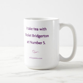 "Julia Quinn ""Violet Bridgerton"" Mug"