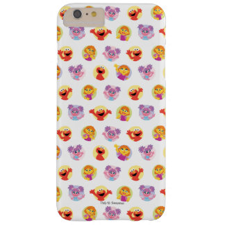 Julia & Sesame Street Friends Pattern Barely There iPhone 6 Plus Case