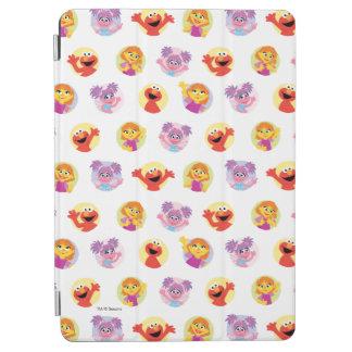 Julia & Sesame Street Friends Pattern iPad Air Cover