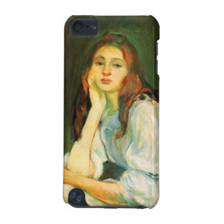 Julie dreaming by Berthe Morisot iPod Touch (5th Generation) Case