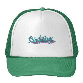 Julie Graffiti Trucker Hat, Cap