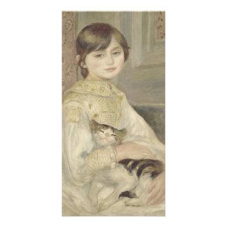 Julie Manet by Pierre-Auguste Renoir Photo Greeting Card