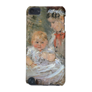 Julie with her nurse by Berthe Morisot iPod Touch 5G Covers