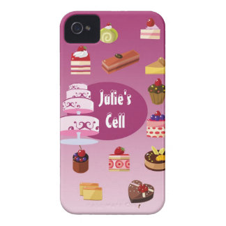 Julie's Cake Case iPhone 4 Cover