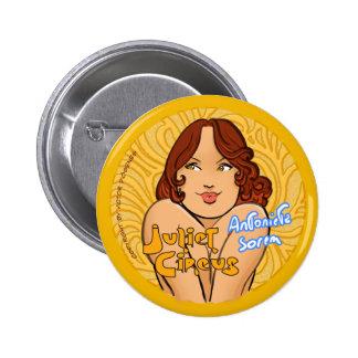 Juliet Circus - Antonieta Sorem 6 Cm Round Badge