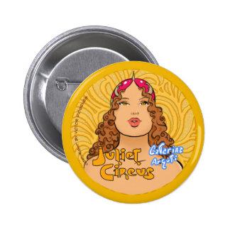 Juliet Circus - Catarina Arguti 6 Cm Round Badge