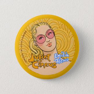 Juliet Circus - Emilia Blanco 6 Cm Round Badge