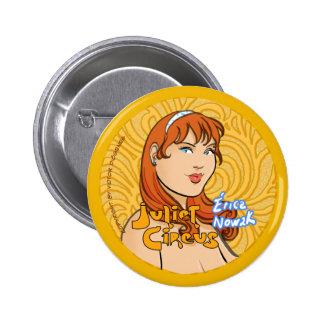 Juliet Circus - Erica Nowak 6 Cm Round Badge