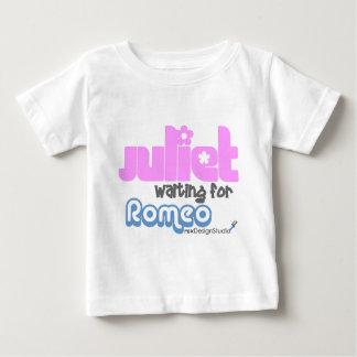 Juliet Waiting for Romeo Baby T-Shirt