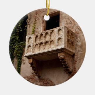 Juliet's Balcony Christmas Ornament